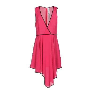 REVISE ミニワンピース&ドレス フューシャ S ポリエステル 100% ミニワンピース&ドレス