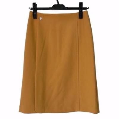 ヴィヴィアンタム VIVIENNE TAM スカート サイズ0 XS レディース 美品 - オレンジブラウン ひざ丈【中古】20210613