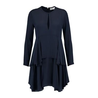 エー・エル・シー A.L.C. ミニワンピース&ドレス ダークブルー 2 シルク 100% ミニワンピース&ドレス