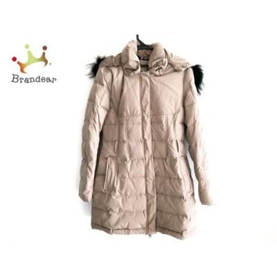 アッド・エーディーディー add ダウンコート サイズ42 L レディース 美品 - ベージュ 長袖/冬 新着 20201129