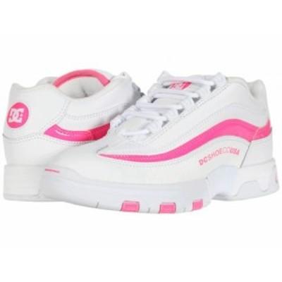 DC ディーシー レディース 女性用 シューズ 靴 スニーカー 運動靴 Legacy Lite White/Hot Pink【送料無料】