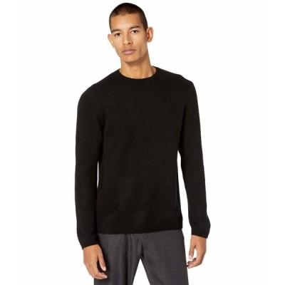 ヴィンス ニット&セーター アウター メンズ Long Sleeve Crew Sweater Black
