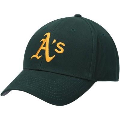 ユニセックス スポーツリーグ メジャーリーグ Oakland Athletics Basic Team Color Adjustable Hat - Green - OSFA 帽子