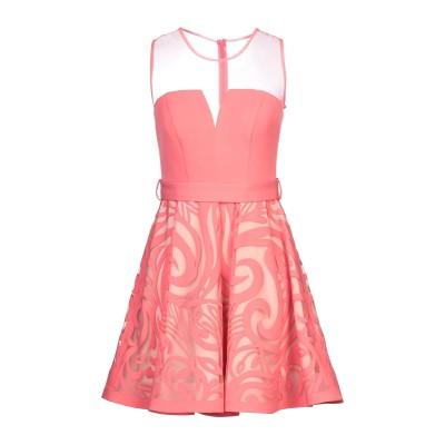 MAESTRI ミニワンピース&ドレス コーラル 6 ポリエステル 100% ミニワンピース&ドレス
