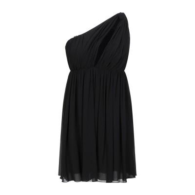 セリーヌ CELINE ミニワンピース&ドレス ブラック 36 シルク 100% ミニワンピース&ドレス