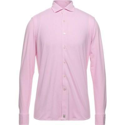 ソンリーサ SONRISA メンズ シャツ トップス Solid Color Shirt Pink