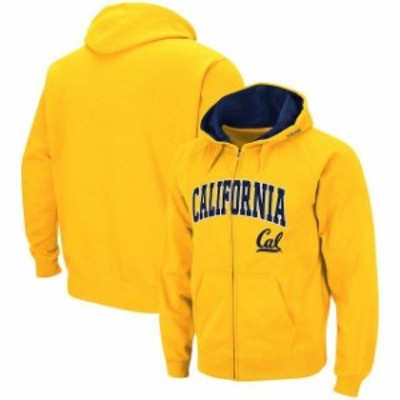 Colosseum コロセウム スポーツ用品  Colosseum Cal Bears Gold Arch & Logo Full-Zip Hoodie