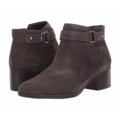 Naturalizer ナチュラライザー レディース 女性用 シューズ 靴 ブーツ アンクル ショートブーツ Drewe Taupe Suede【送料無料】