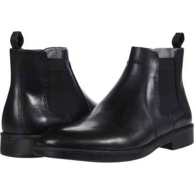 ジョンストン&マーフィー Johnston & Murphy メンズ ブーツ チェルシーブーツ シューズ・靴 Maddox Chelsea Boot Black Full Grain Waterproof Leather