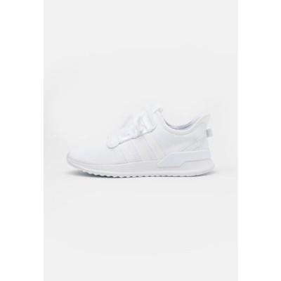 アディダス メンズ 靴 シューズ PATH RUN UNISEX - Trainers - footwear white