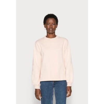レディース ファッション AUGUSTA NECK - Sweatshirt - cameo rose