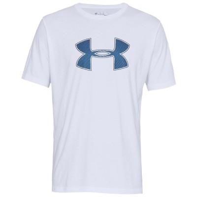 アンダーアーマー Tシャツ トップス メンズ Men's Big-Logo T-Shirt White