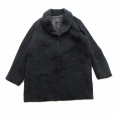 【中古】アメリカンラグシー AMERICAN RAG CIE アルパカ ウール オーバーサイズ チェスター コート ジャケット