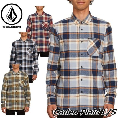 volcom ボルコム シャツ Caden Plaid L/S メンズ 長袖 A0541802 【返品種別OUTLET】