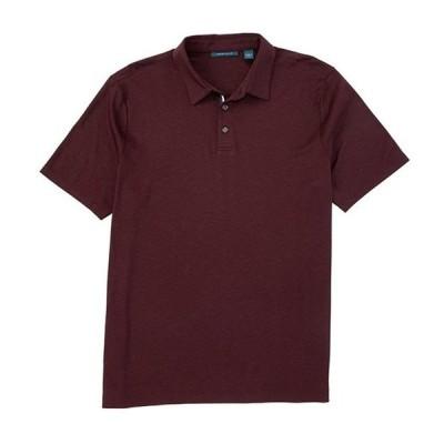 ペリーエリス メンズ シャツ トップス Solid Soft-Touch Short-Sleeve Polo Shirt