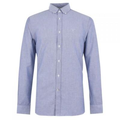 バブアー Barbour メンズ シャツ ワイシャツ トップス Lifestyle Oxford 3 Tailored Shirt Indigo