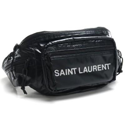 【新品】 サンローラン SAINT LAURENT ボディバッグ 581375 HO21Z 1054 ブラック bos-14 bag-01 メンズ