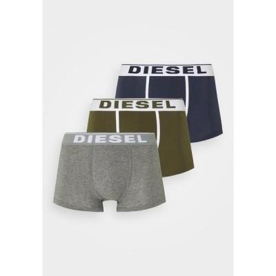ディーゼル カジュアルパンツ メンズ ボトムス DAMIEN 3 PACK - Pants - green/blue/grey