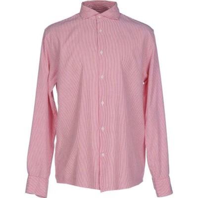 デペール DEPERLU メンズ シャツ トップス Striped Shirt Red