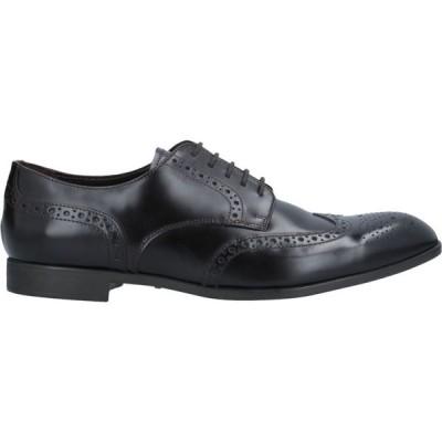 アルマーニ EMPORIO ARMANI メンズ シューズ・靴 laced shoes Dark brown
