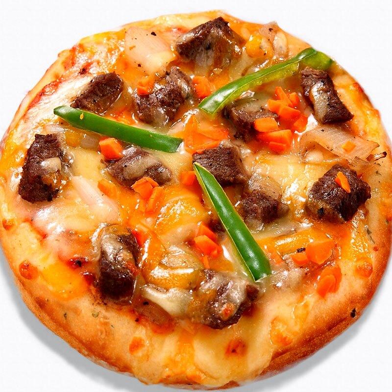 瑪莉屋口袋比薩pizza【風味特醃牛排披薩】厚皮/一入