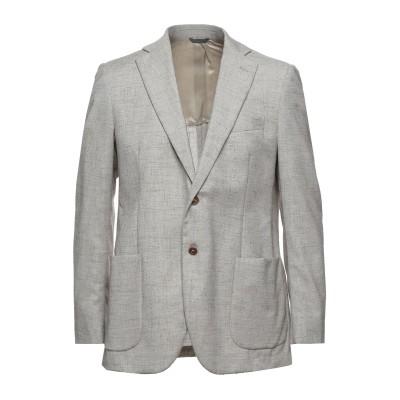 IDEA テーラードジャケット ライトグレー 54 バージンウール 65% / コットン 27% / リネン 8% テーラードジャケット