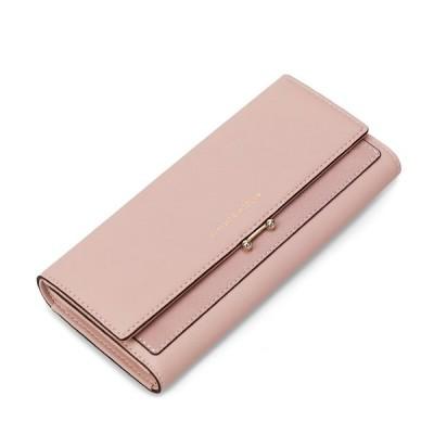 母の日 長財布 レディース スナップボタン PUレザー 小銭入れ ウォレット カード入れ 財布 人気