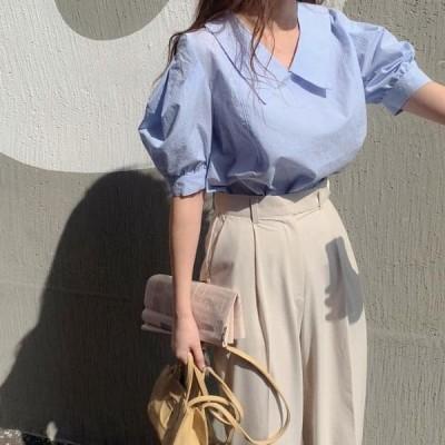 HEYLADY レディース ブラウス Poit collar blouse