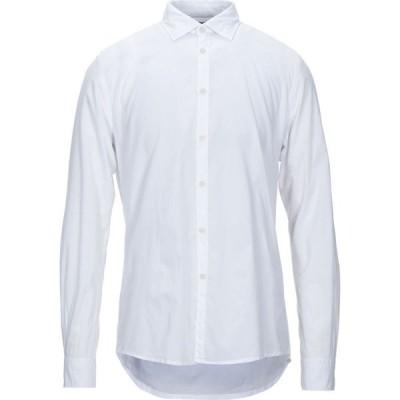 インピュア IMPURE メンズ シャツ トップス solid color shirt White