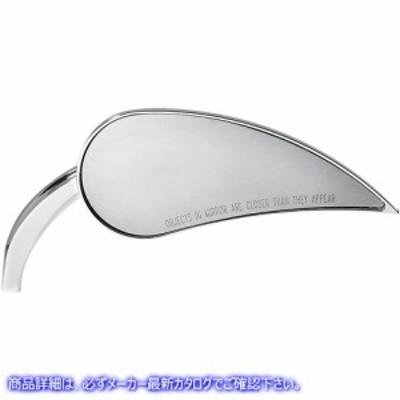 【取寄せ】 Rad III ミラー アレンネス ARLEN NESS 13-091 Rad III Mirror - Tear Drop - Chrome - Right  ミラー RAD