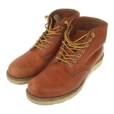 レッドウィング RED WING ブーツ ORO RUSSET オロラセット 8166 メンズ サイズ 26.5cm US8 1/2 レッドブラウン 中古B 258161