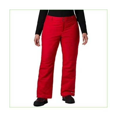 Columbia Women's Bugaboo Omni-Heat Pant, Red Lily, 2X Regular「並行輸入品」