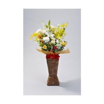 お祝い 造花 スタンド付きアレンジメント 送料無料
