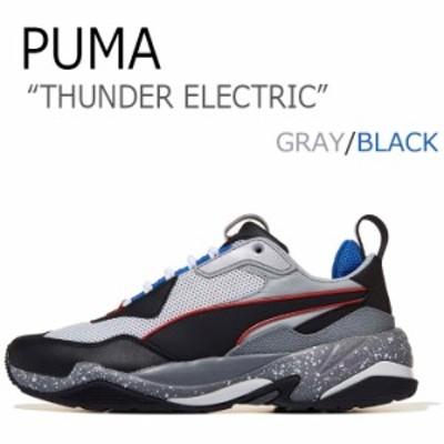 プーマ スニーカー PUMA メンズ レディース THUNDER ELECTRIC サンダーエレクトリック GRAY グレー 36799602 PKI36799602 シューズ