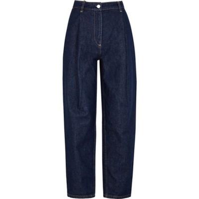 マグダ ブトリム Magda Butrym レディース ジーンズ・デニム ボトムス・パンツ Dark Blue Tapered Jeans Navy