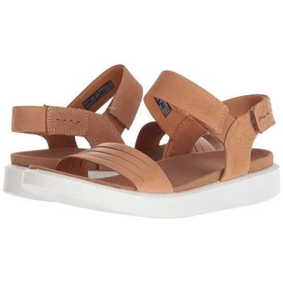 エコー Flowt Strap Sandal レディース サンダル Lion/Cashmere Cow Leather/Cow Nubuck
