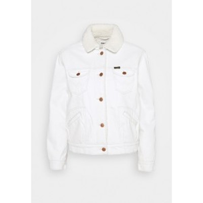 ラングラー レディース ジャケット&ブルゾン アウター SHERPA FRIENDS  - Denim jacket - winter white winter white