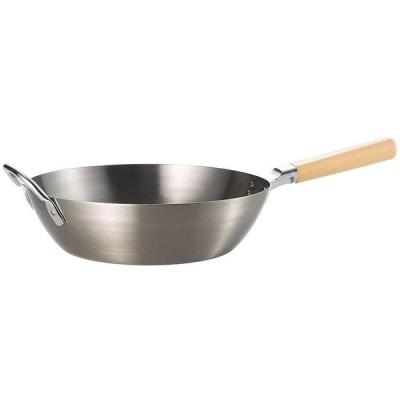 匠弥 鉄 木柄いため鍋28cm TY-041 l 同梱・代引不可 料理 調理器具 クッキング