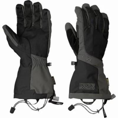 アウトドアリサーチ 手袋・グローブ Arete Gloves Black/Charcoal