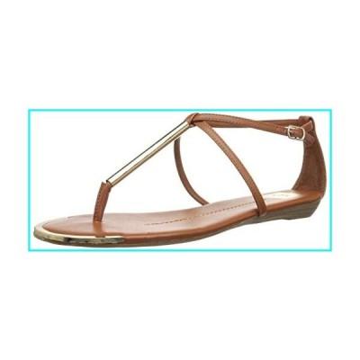 [Dolce Vita] Women's Archer Flat Cognac Stella Sandal - 10M