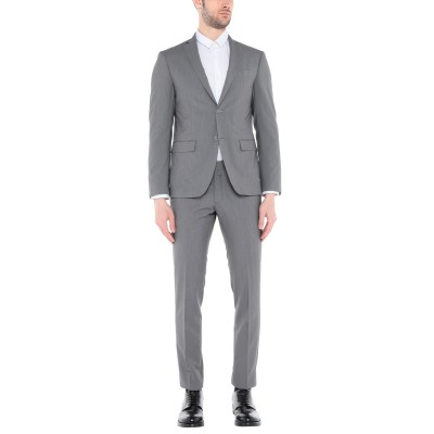 DOMENICO TAGLIENTE スーツ 鉛色 54 ポリエステル 65% / レーヨン 35% スーツ