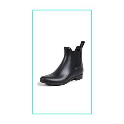 【新品】Sam Edelman Women's Tinsley Chelsea Rain Booties, Black, 8 Medium US(並行輸入品)