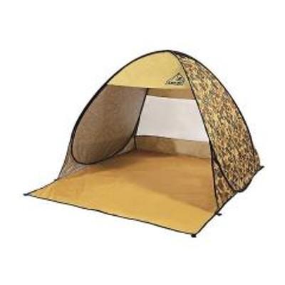 10%OFFクーポン対象商品 ポップアップテント キャンプアウト カモフラージュ UVカット バッグ付き 2人用( テント ポップアップ 簡易テント 軽量 コンパクト ワンタッチテント ワンタッチ 簡単 迷彩 ) クーポンコード:7CLY8DW