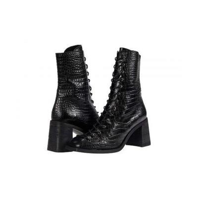 Free People フリーピープル レディース 女性用 シューズ 靴 ブーツ レースアップ 編み上げ Margaux Mid Boot - Black