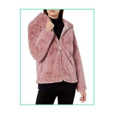 Madden Girl Women's Fashion Outerwear Jacket, Faux Fur Blush, M並行輸入品