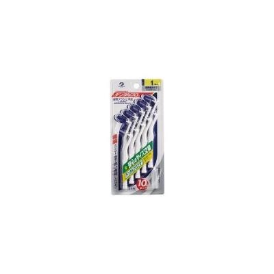 デンタルプロ L字型 歯間ブラシ サイズ1(SSS)10本入(4973227308326) ×10点セット 【まとめ買い特価!】