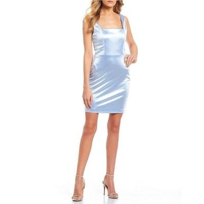 ミッドナイト ドール レディース ワンピース トップス Sleeveless Slim Satin Tank Dress