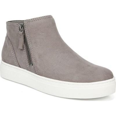 ナチュラライザー Naturalizer レディース スニーカー ブーティー シューズ・靴 Celeste Sneaker Booties Grey Nubuck