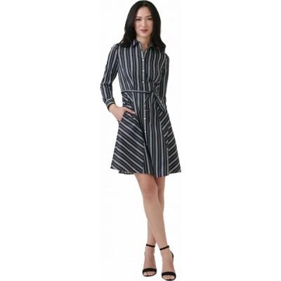 アンタックイット UNTUCKit レディース ワンピース ワンピース・ドレス Willow Dress Black/White
