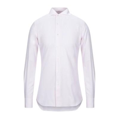 XACUS シャツ ライトピンク 46 コットン 100% シャツ
